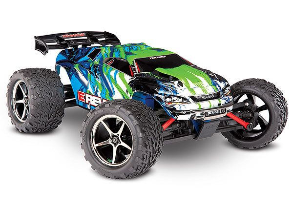 Traxxas E-Revo 1/16 4WD Brushed RTR Truck Green