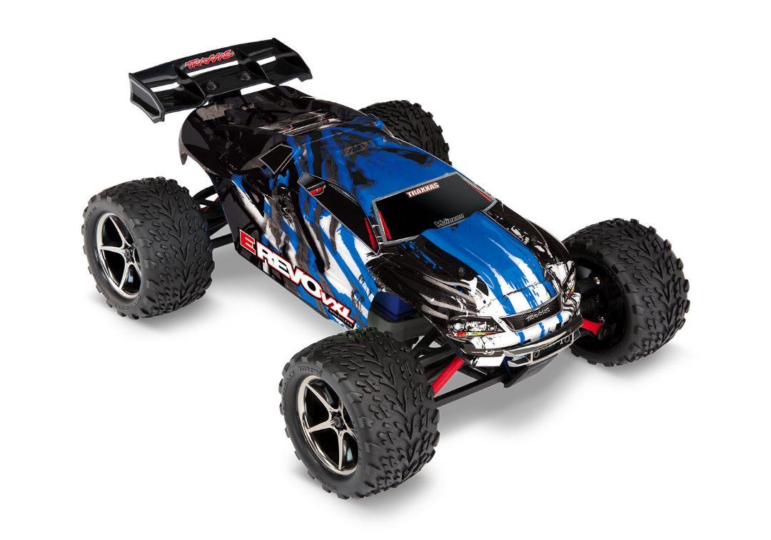 Traxxas E-Revo VXL 1/16 4WD Brushless RTR Truck Blue