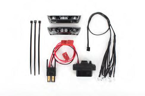 Traxxas LED light kit, 1/16 E-Revo
