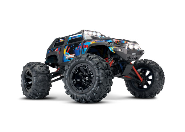 Summit: 1/16 Scale 4WD Electric Extreme Terrain Monster Truck