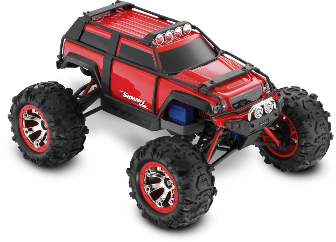 Summit VXL: 1/16-Scale 4WD Electric Extreme Terrain Red