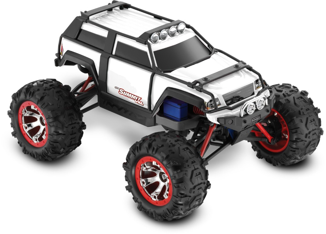 Summit VXL: 1/16-Scale 4WD Electric Extreme Terrain White