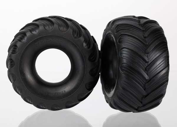 Traxxas Tires, Dual Profile (1.5' Outer And 2.2' Inner) (Left An