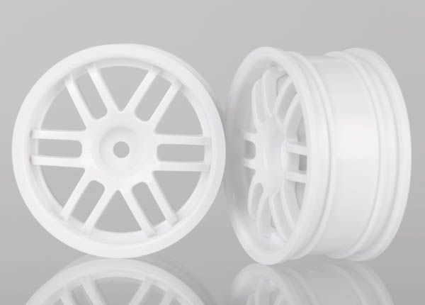 Traxxas Wheels, Rally (White) (2)