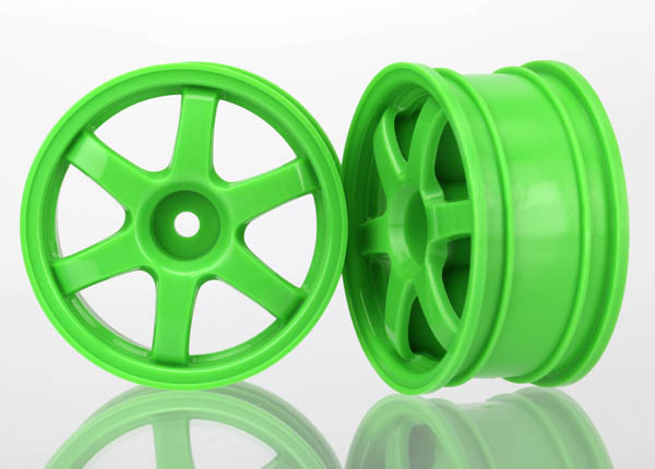 Traxxas Wheels, Volk Racing TE37 (Green) (2)