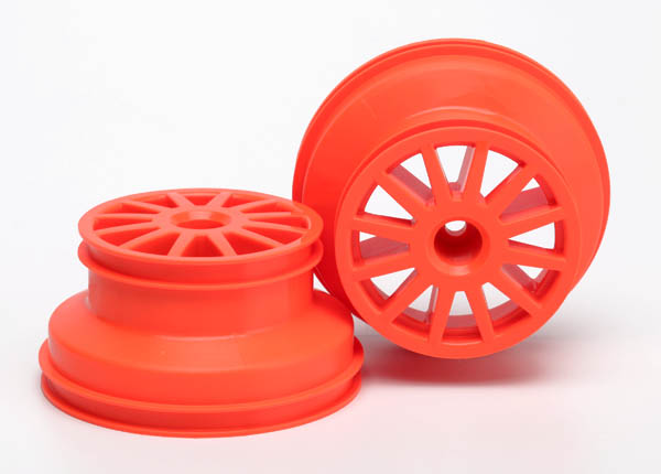 Traxxas Wheels, Orange (2)