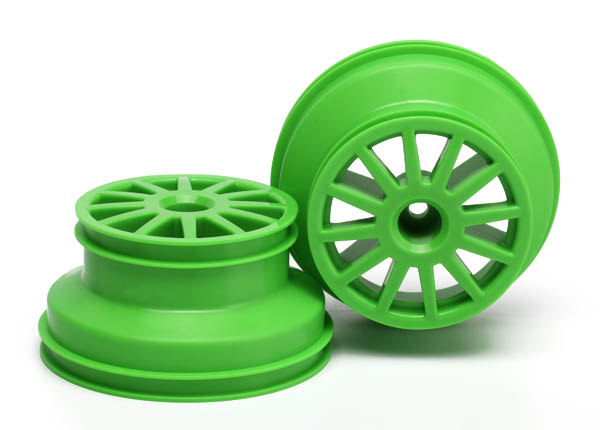 Traxxas Wheels, Green (2)