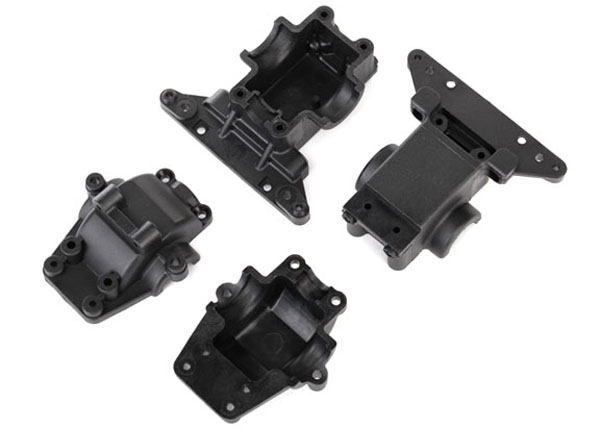 Traxxas LaTrax Front & Rear Bulkhead/Differential Housing Set