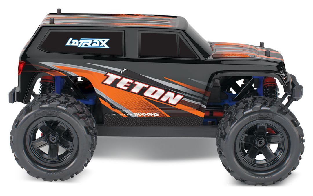 Traxxas LaTrax Teton 1/18 4WD RTR Monster Truck Orange