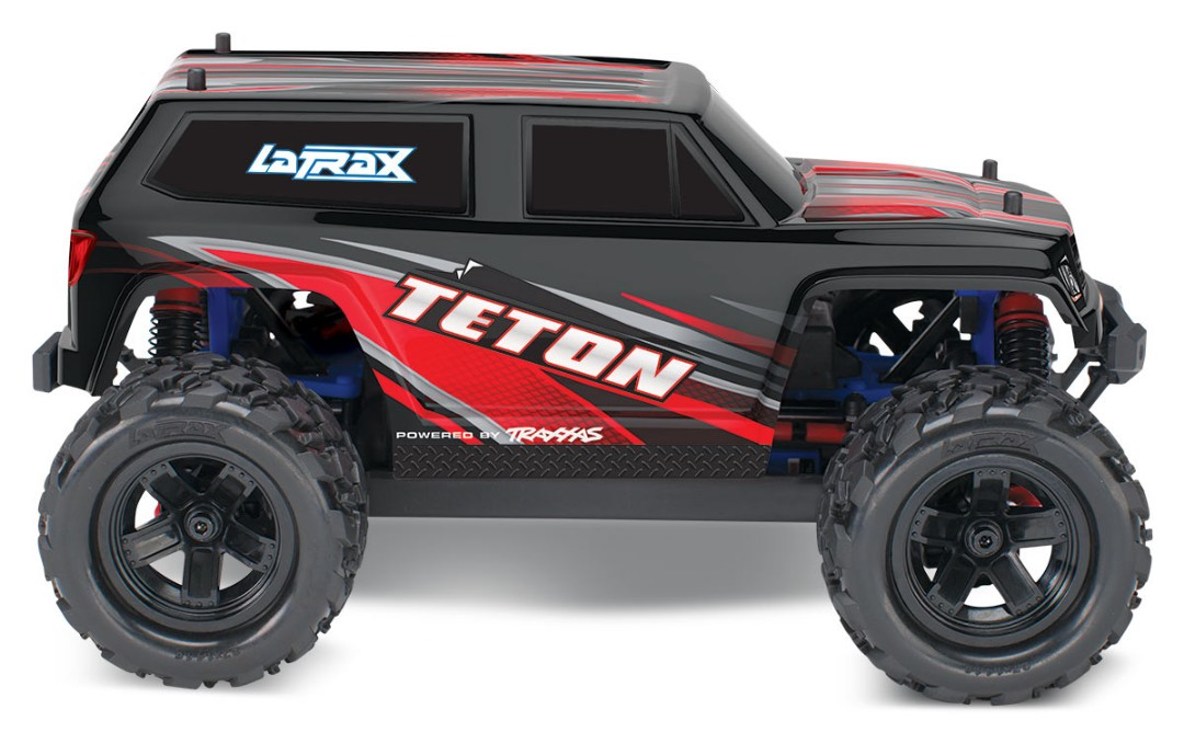 Traxxas LaTrax Teton 1/18 4WD RTR Monster Truck Red