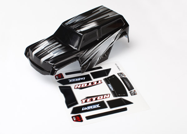 Traxxas Body, LaTrax 1/18 Teton, ProGraphix (graphics are printe