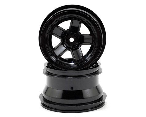 Traxxas LaTrax Teton 5 Spoke Wheels (Black) (2)