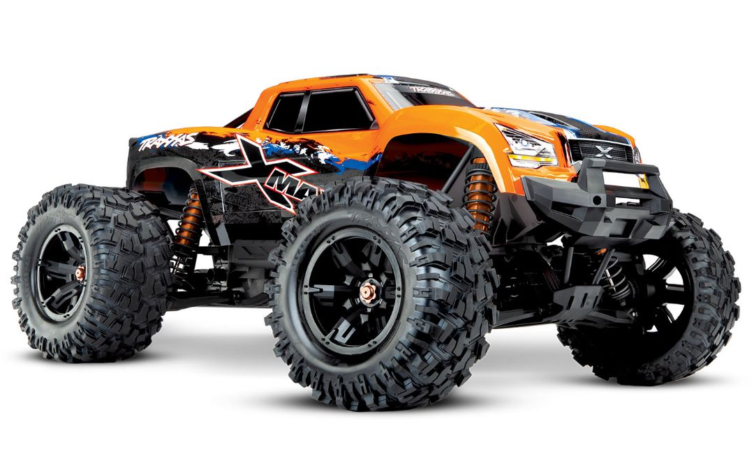 Traxxas X-Maxx 4WD Brushless RTR 8S Monster Truck - Orange-X