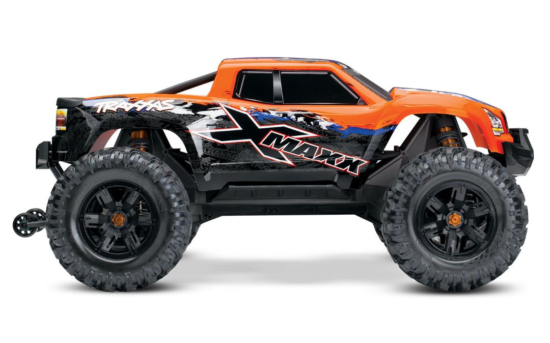 Traxxas X-Maxx 4WD Brushless RTR 8S Monster Truck - Orange-X - Click Image to Close