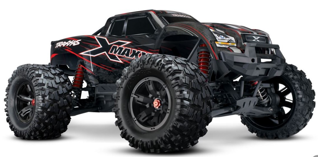 Traxxas X-Maxx 4WD Brushless RTR 8S Monster Truck - Red