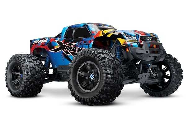 Traxxas X-Maxx 4WD Brushless RTR 8S Monster Truck - RNR - Click Image to Close
