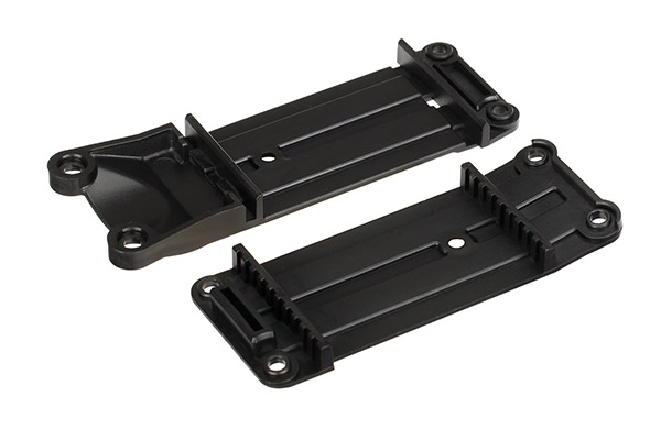 Traxxas Mount, tie bar, front (1)/ rear (1)