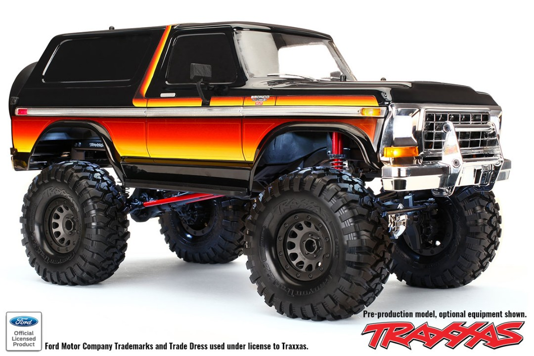 Traxxas Body, TRX4 Bronco Body Kit - Sunset
