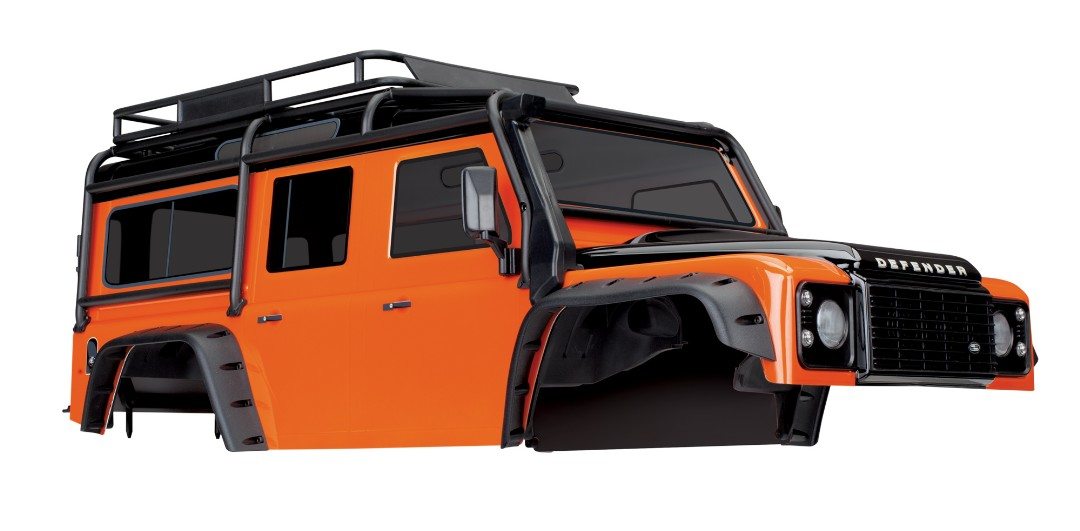 Traxxas Land Rover Defender Adventure Orange Body