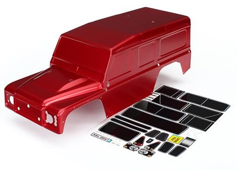 Traxxas Land Rover Defender Red Body