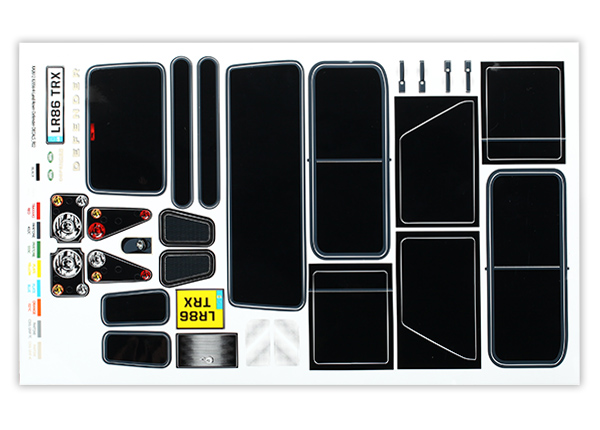 Traxxas Land Rover Defender Decals