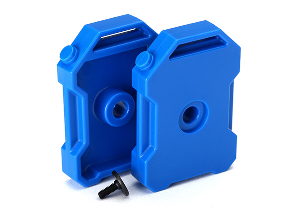 Traxxas Fuel Canisters (Blue) (2)/ Screw Pin