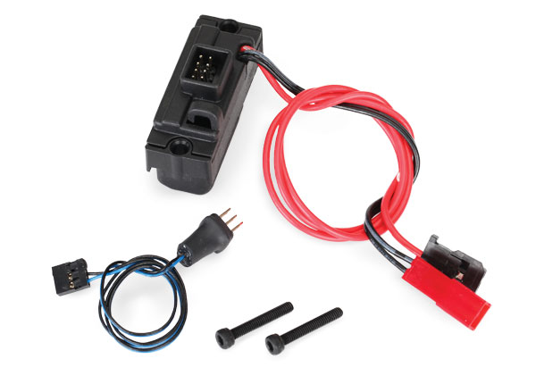 Traxxas LED lights, power supply (regulated, 3V, 0.5-amp)