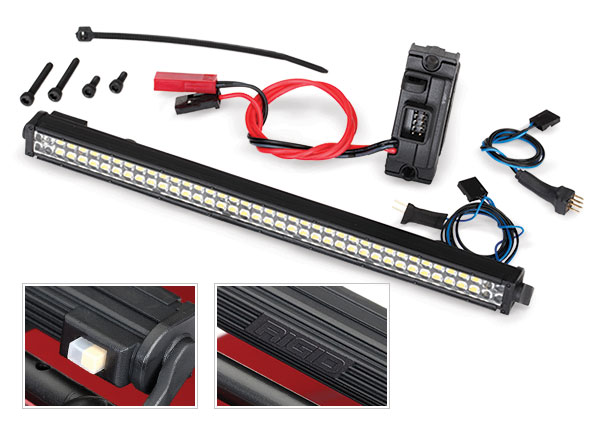 Traxxas LED lightbar kit (Rigid)/power supply, TRX-4