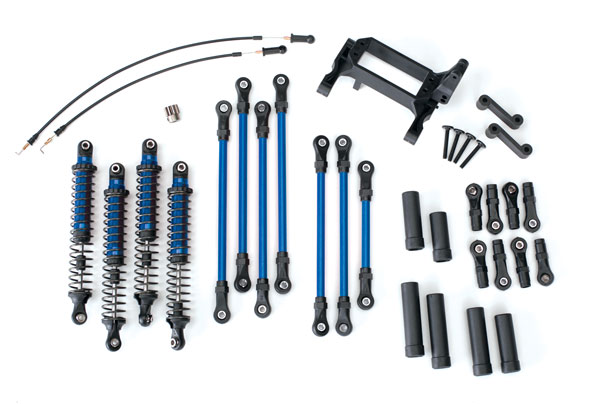 Traxxas Long Arm Lift Kit, TRX-4, complete (includes blue powder