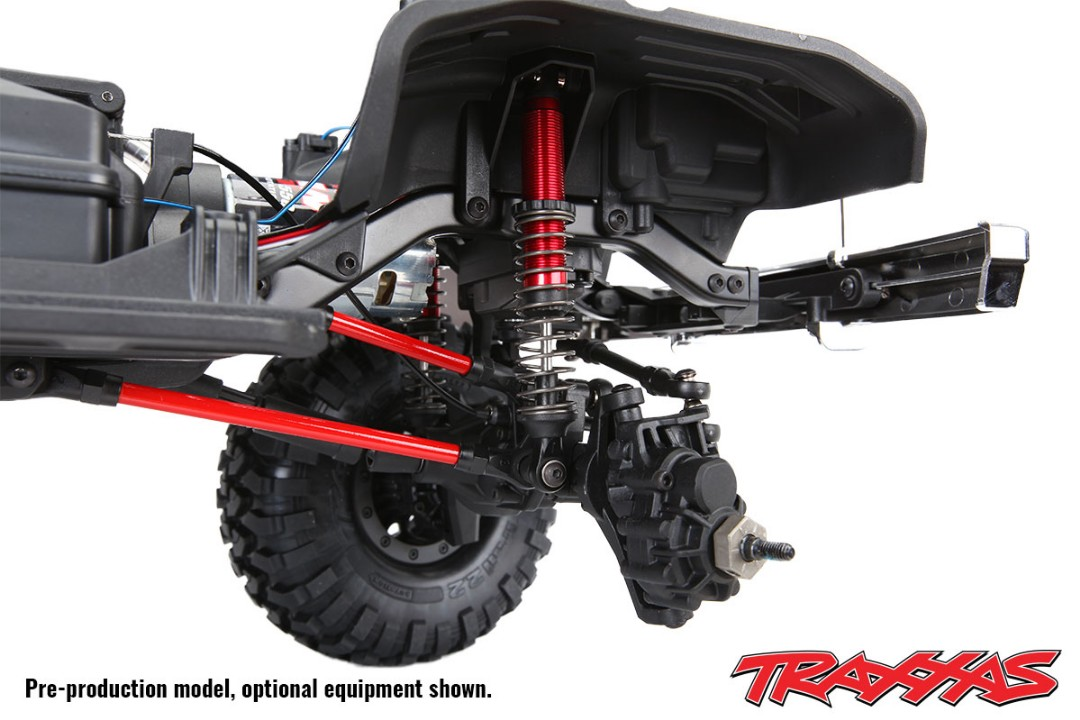 Traxxas Long Arm Lift Kit, TRX-4, complete (includes blue powder - Click Image to Close