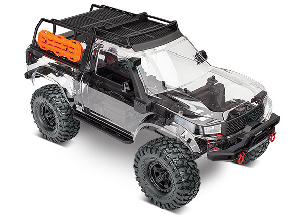 Traxxas TRX-4 Sport Unassembled Kit + Lift Kit (TRA8140) - Click Image to Close