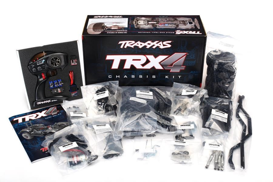 Traxxas TRX4 Unassembled 1/10 Crawler Kit with TRA2992