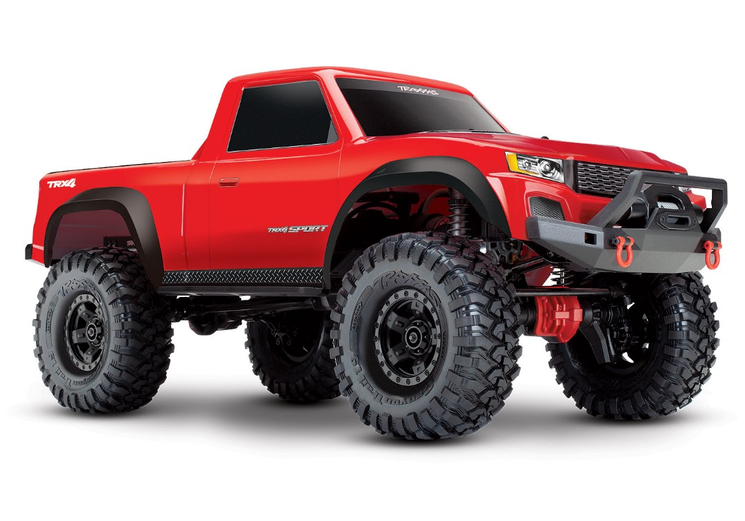 Traxxas TRX-4 Sport 1/10 Scale 4X4 Trail Truck - Red
