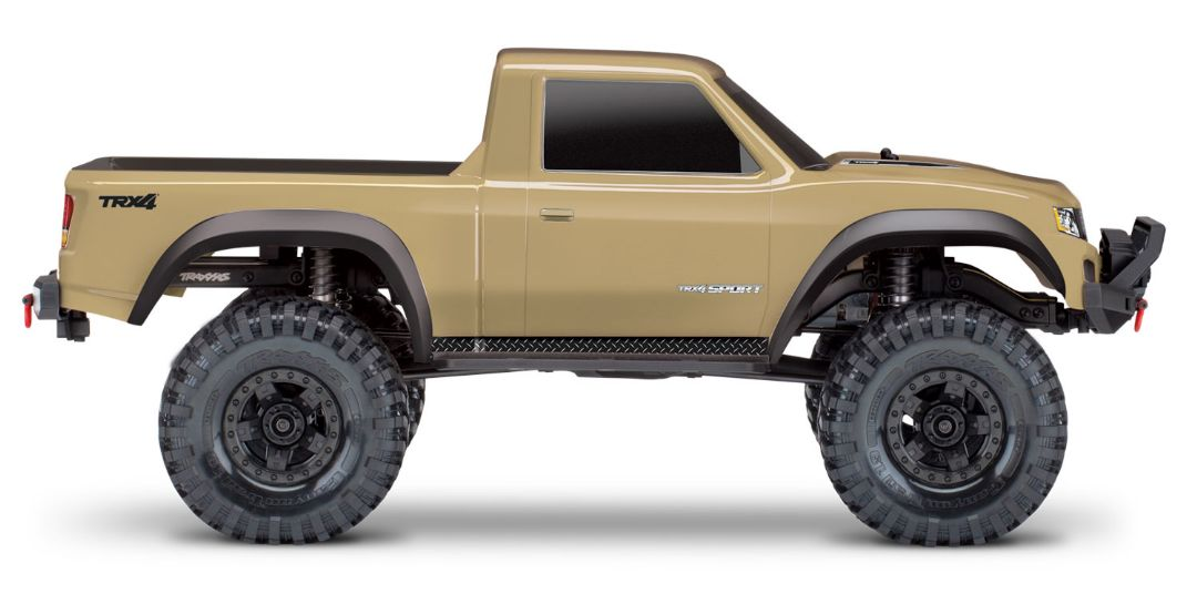 Traxxas TRX-4 Sport 1/10 Scale 4X4 Trail Truck - Tan - Click Image to Close