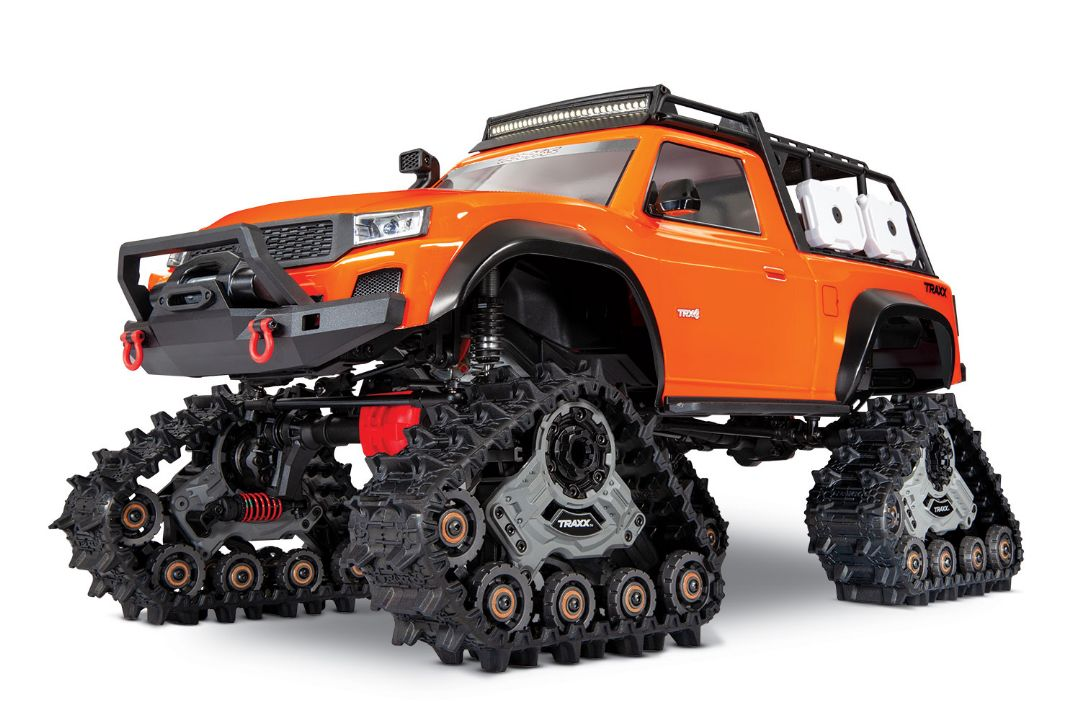 Traxxas TRX-4 with Traxx 1/10 4X4 Extreme-Terrain Truck - Orange