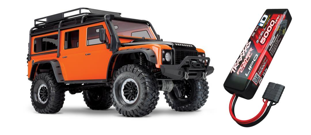 Traxxas TRX4 Land Rover Adventure - Orange + TRA2872X