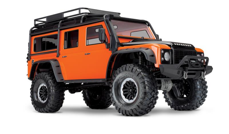 Traxxas TRX4 Land Rover Adventure - Orange - Limited Edition