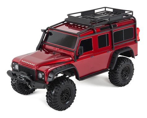 Traxxas TRX4 Land Rover 1/10 Crawler Red