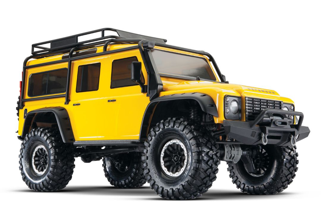 Traxxas TRX4 Land Rover Adventure - Yellow - Limited Edition