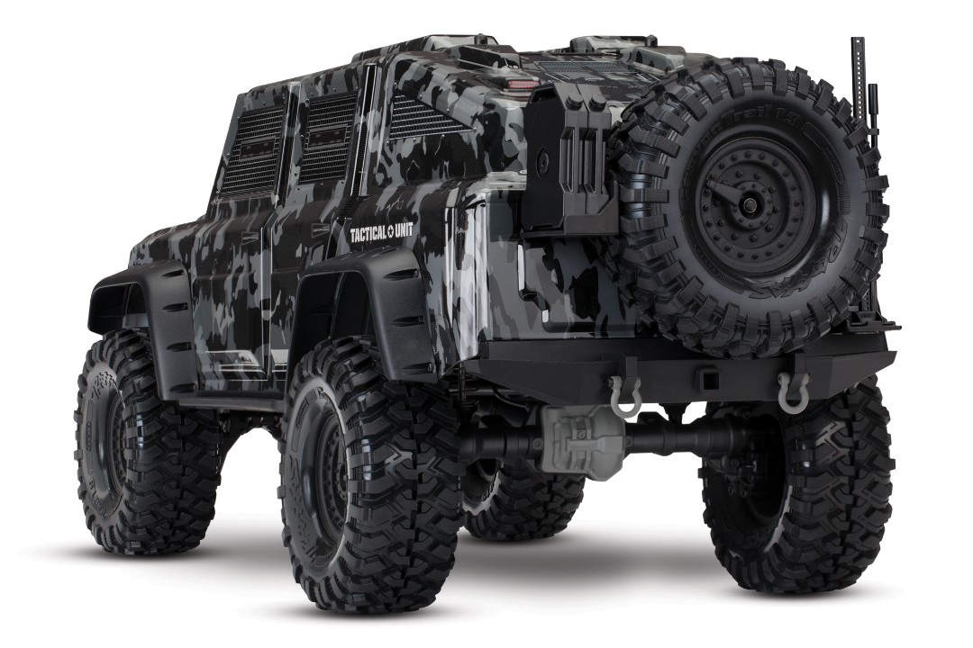 Traxxas TRX-4 Tactical 1/10 Trail Rock Crawler + TRA2872X