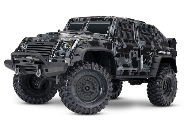 Traxxas TRX-4 Tactical 1/10 Trail Rock Crawler Tactical Unit