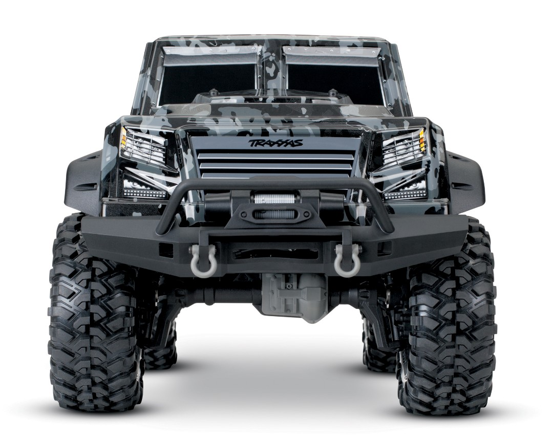 Traxxas TRX-4 Tactical 1/10 Trail Rock Crawler Tactical Unit - Click Image to Close