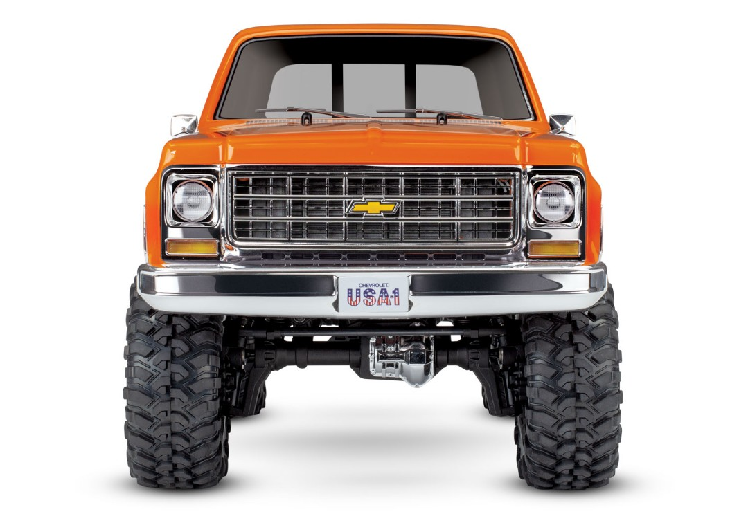 Traxxas TRX4 79 Chevy Blazer 1/10 Crawler, Orange - Click Image to Close