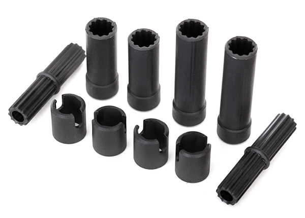 Traxxas Half shafts, center (internal splined, front (2) & inter