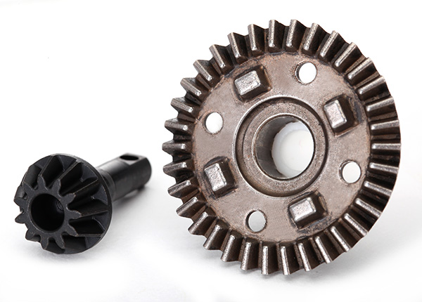 Traxxas Ring gear, differential/ pinion gear, differential