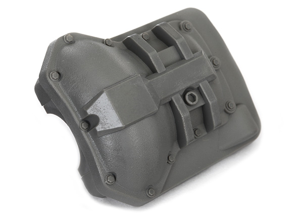 Traxxas Differential cover, front or rear (grey)