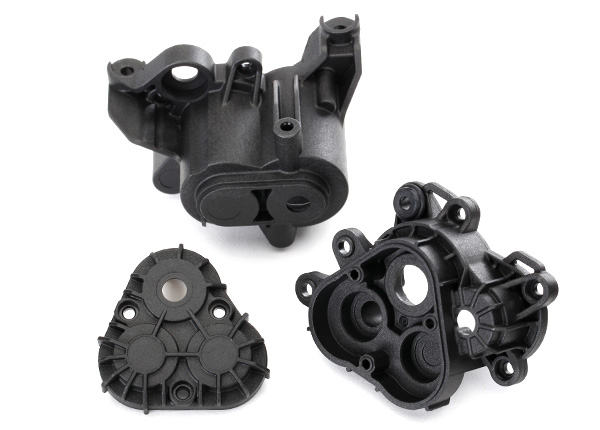 Traxxas Gearbox housing (includes main housing, front housing, &