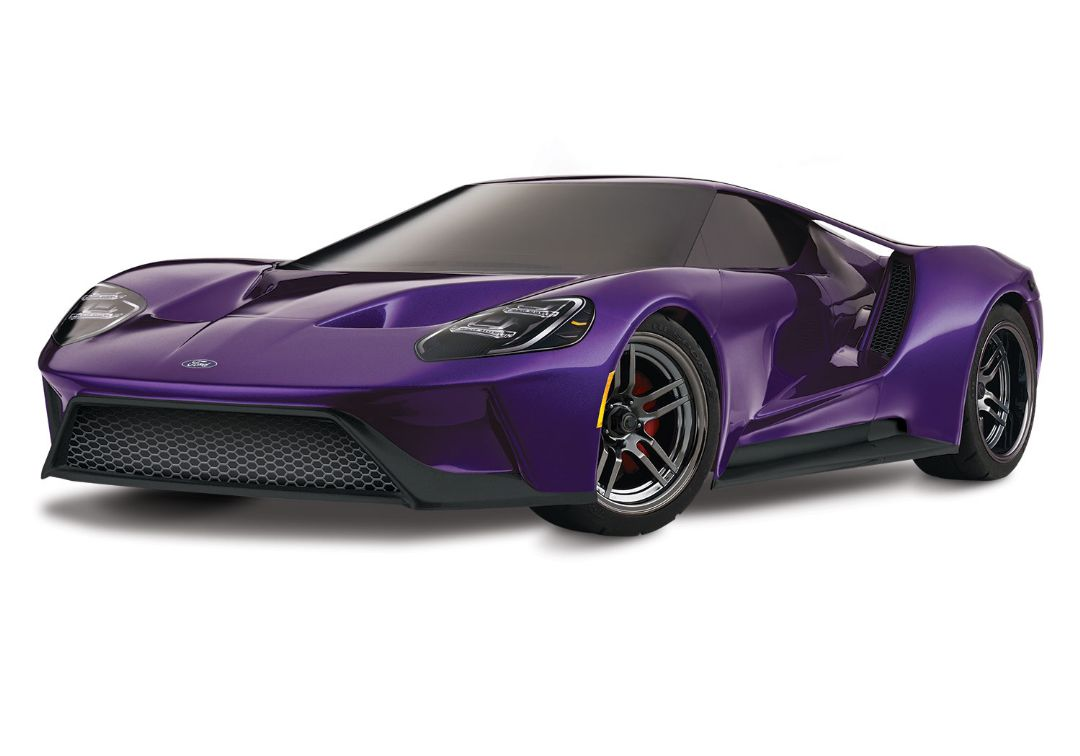 Traxxas Ford GT 1/10 Scale AWD Purple Supercar
