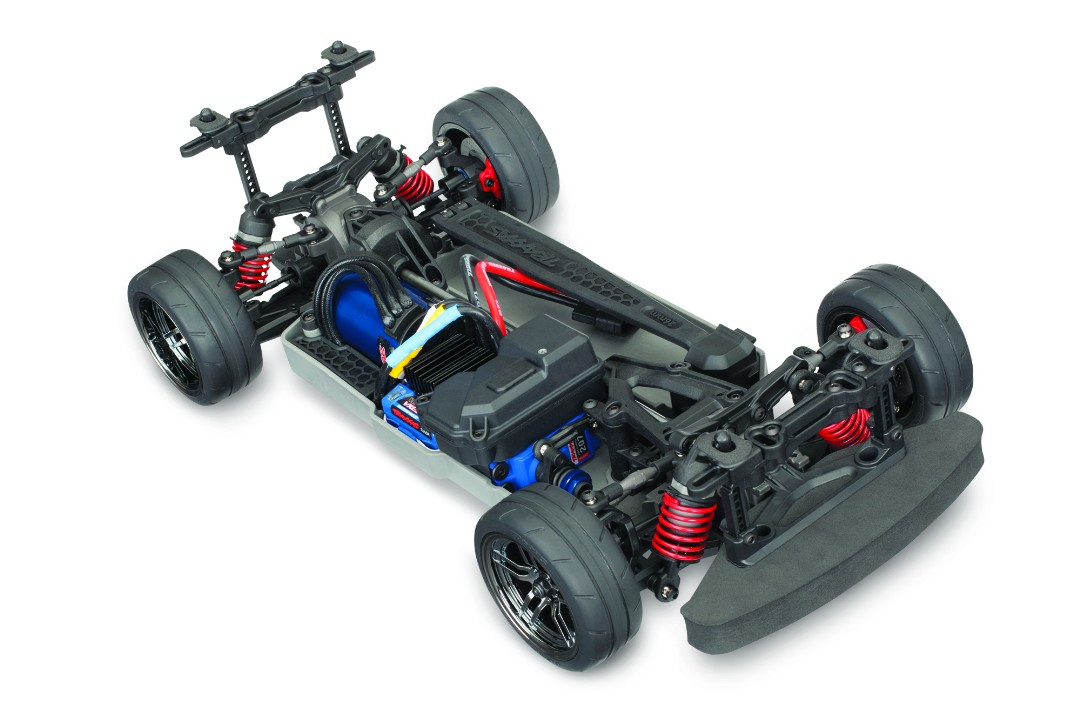 Traxxas 4-Tec 2.0 VXL AWD Chassis-Only - Click Image to Close