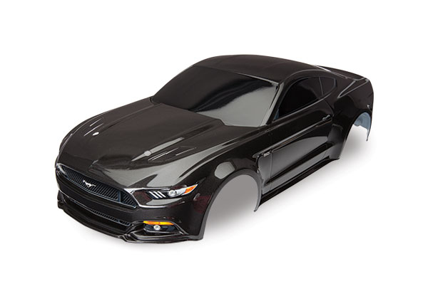 Body, Ford Mustang, black (painted, decals applied)